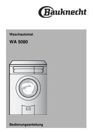 WA 5080 - Bauknecht-mam.ch