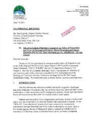 September 1, 2011 - Appendix D: Formal Written Scoping Letters, D ...