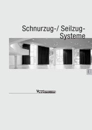 Schnurzug-/ Seilzug- Systeme