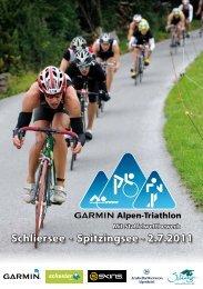 Schliersee - Spitzingsee - 2.7.2011 - Garmin Alpen-Triathlon