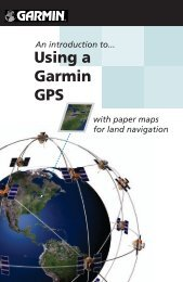 Using a Garmin GPS