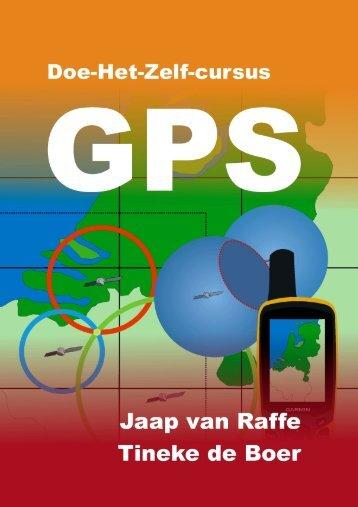 Doe-het-zelf-cursus GPS - GPS wandelingen
