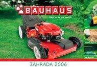 ZAHRADA 2006 - Bauhaus