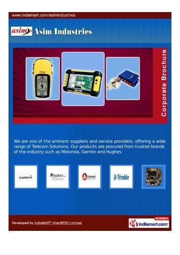 Asim Industries, New Delhi - Importer & Supplier of Garmin GPS ...