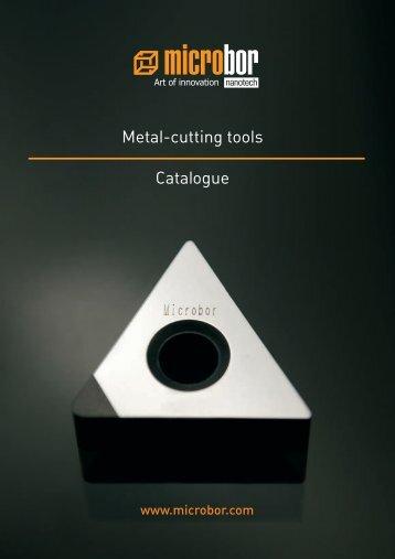 Metal-cutting tools Catalogue