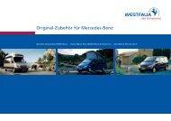 Original-Zubehör für Mercedes-Benz - Poptop Westfalia campers