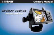 GPSMAP 378/478 Owner's Manual - GPS Central