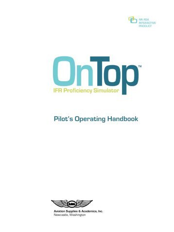 Pilot's Operating Handbook - Aviation Supplies & Academics