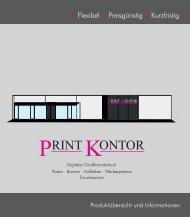 Produktübersicht (pdf, 500 kB) - print-kontor.de