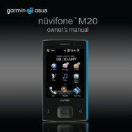 nüvifone™ M20 - Garmin-Asus