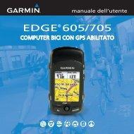 EdgE® 605/705 - Garmin