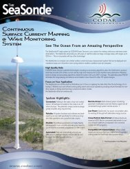 to Download Complete SeaSonde Product Line - CODAR Ocean ...