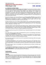 PROSTATA PSA-Schnelltest PSA-Check-1 (12 ... - MEDPRO GmbH