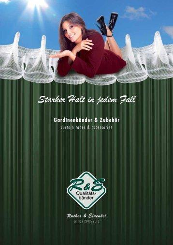 Katalog - zu Ruther & Einenkel