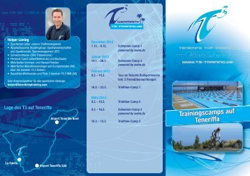 Flyer Saison 2012-13.indd - T3 Germany - Tenerife Top Training