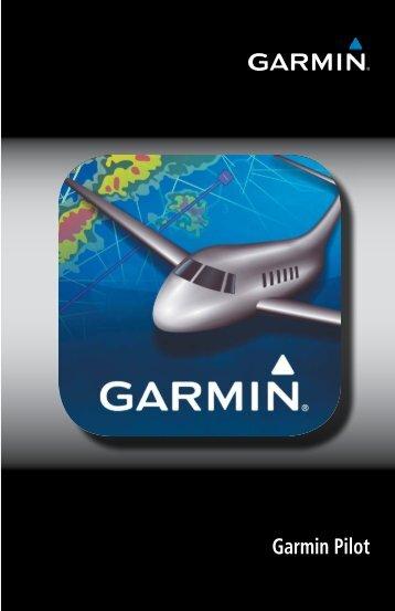 Read the Garmin Pilot Pilot's Guide