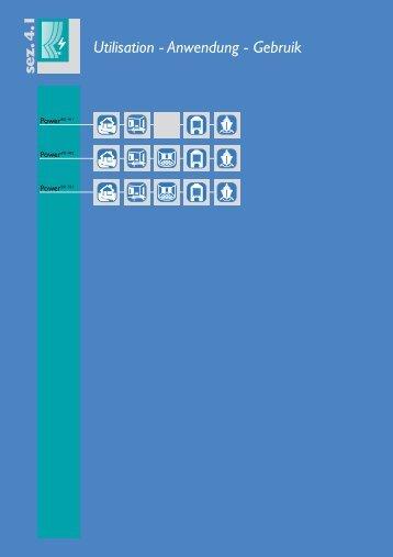 Utilisation - Anwendung - Gebruik - Toutentissus