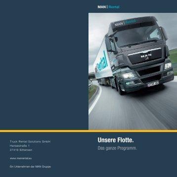 Flotte MAN Rental (1 MB PDF) - Transport efficiency