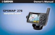 GPSMAP® 278 - GARMIN - We'll take you there