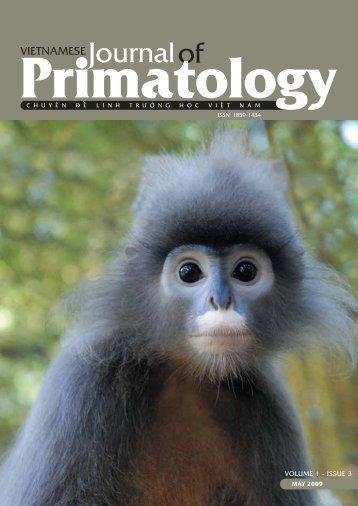 Volume 1, Issue 3 - Zoologische Gesellschaft Frankfurt