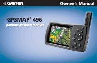 GPSMAP® 496 - Garmin