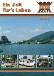Nellen Zelte Katalog 2010/2011 zum download - bei Zeldi.de