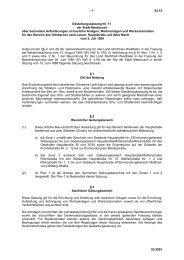 63.12 Gestaltungssatzung Nr. 11 der Stadt Meerbusch über