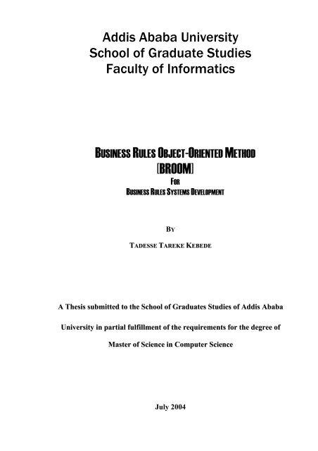 TADESSE TAREKE pdf - Addis Ababa University