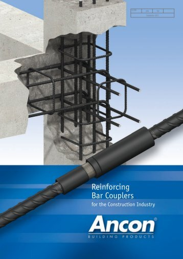 Reinforcing Bar Couplers - Ancon Building Products