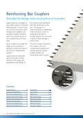 Reinforcing Bar Couplers - Ancon Building Products - Page 2
