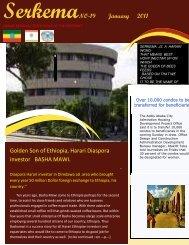 Golden Son of Ethiopia, Harari Diaspora investor BASHA