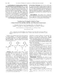 Spnthesis and Analgetic Activity of Some 1- Substituted 3 ...