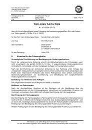 TEILEGUTACHTEN - Excentric Automotive eK