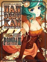 Program Guide [PDF] - Nan Desu Kan