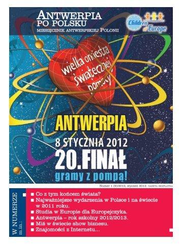 Antwerpia Po Polsku