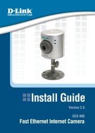 Wireless G USB 2.0 Adapter Fast Ethernet Internet Camera - D-Link