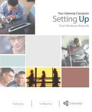 Setting up Your Windows Network - Gateway - Elhvb.com