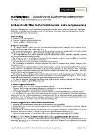 safetybox | Bioethanol Sicherheitsbrenner