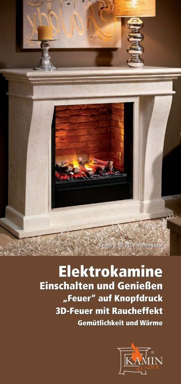 Elektrokamine - Kamine ohne Schornstein