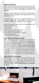 Elektrokamine - Kamine ohne Schornstein - Seite 2