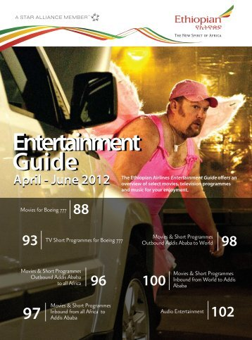 Download Sheba In-flight Entertainment Guide - Ethiopian Airlines