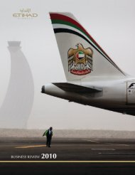 Business review 2010 (English) - Etihad Airways