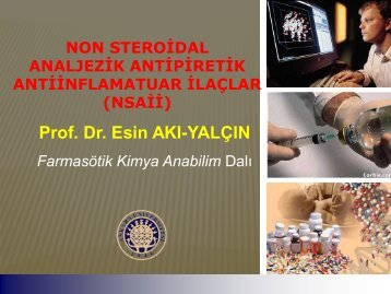 Prof. Dr. Esin AKI-YALÇIN Farmasötik Kimya Anabilim