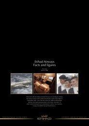 Etihad Airways Facts and figures - Etihad Media Centre