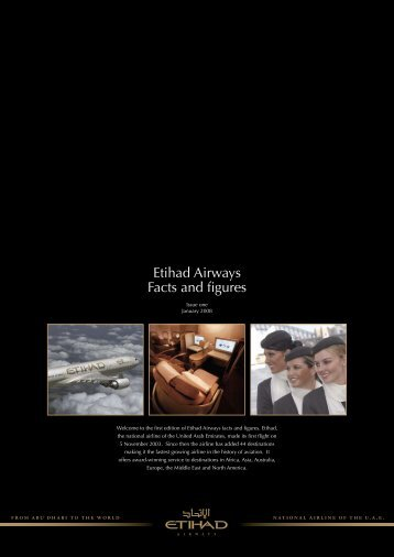 Etihad Airways Facts and figures - Etihad Media Centre