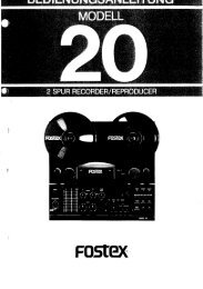 Modell 20 (dt.) - Mega Audio