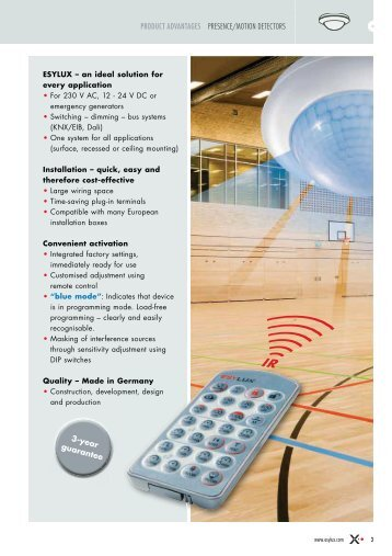 Angle of module upto 35 m product advantages presencemotion detectors 3 cheapraybanclubmaster Gallery