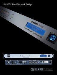 DN9652 Dual Network Bridge - Mega Audio