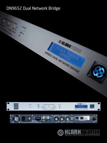 DN9652 Dual Network Bridge - Mega Audio