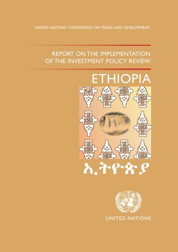 Investment Policy Review Ethiopia - Unctad